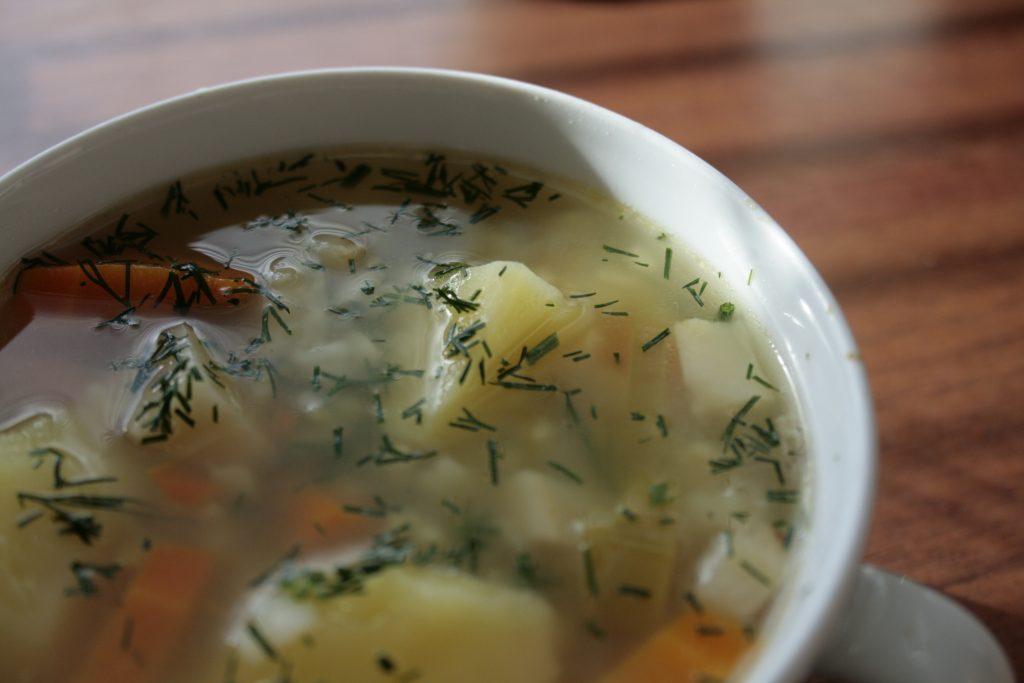 Zupa krupnik bezglutenowa