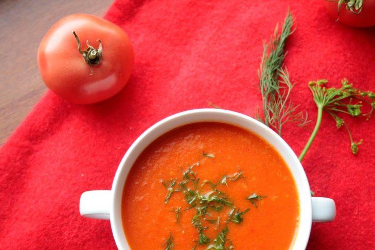 Low FODMAP Zupa krem paprykowo - pomidorowa
