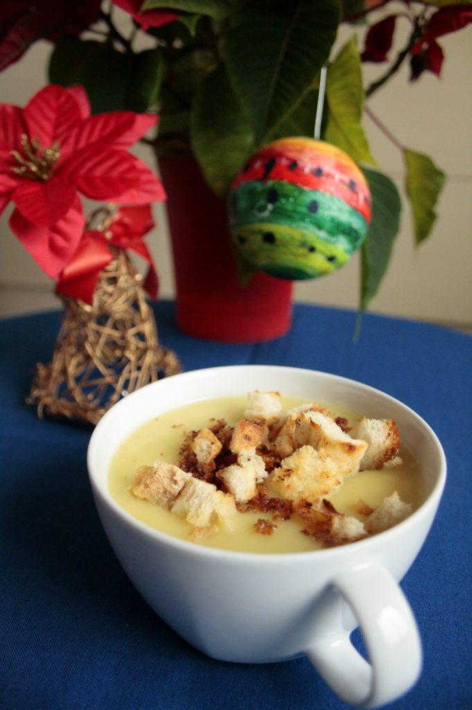 zupa krem porowo ziemniaczana