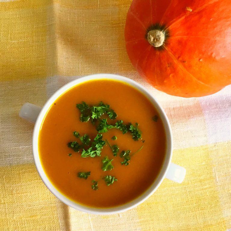 Low FODMAP zupa krem dyniowa