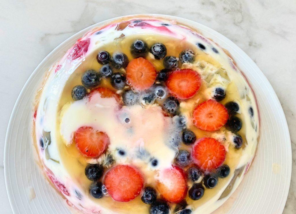 Ciasto galaretkowe - jogurtowiec bez laktozy