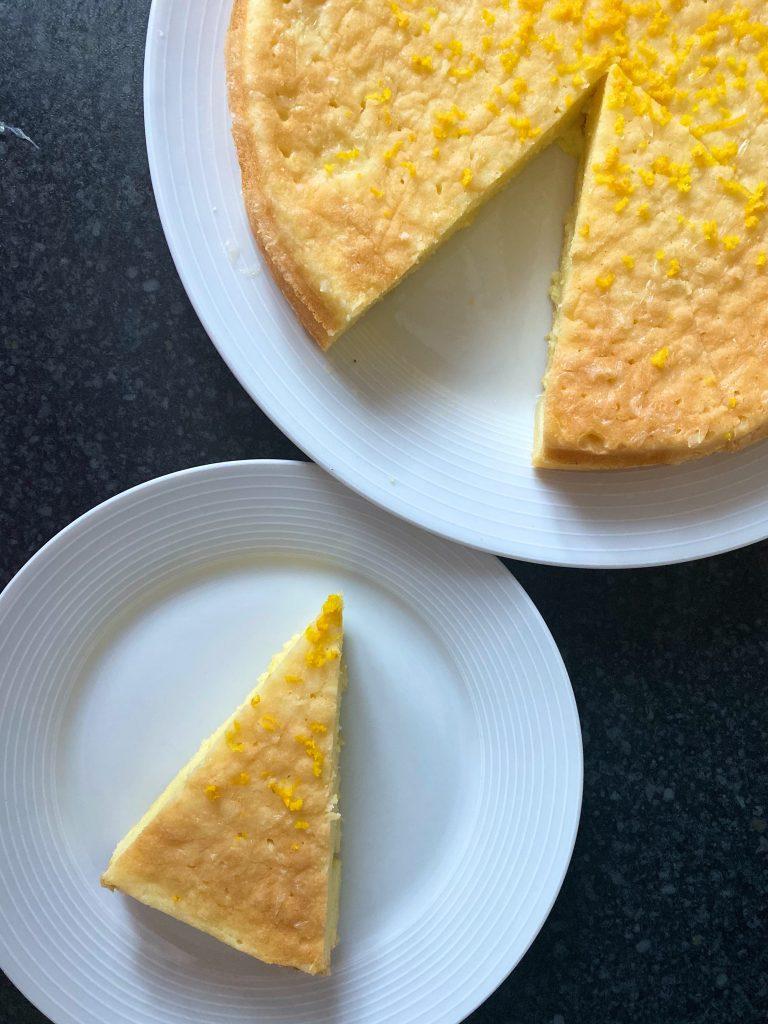Bezglutenowe Ciasto Cytrynowe z Ziemniakami